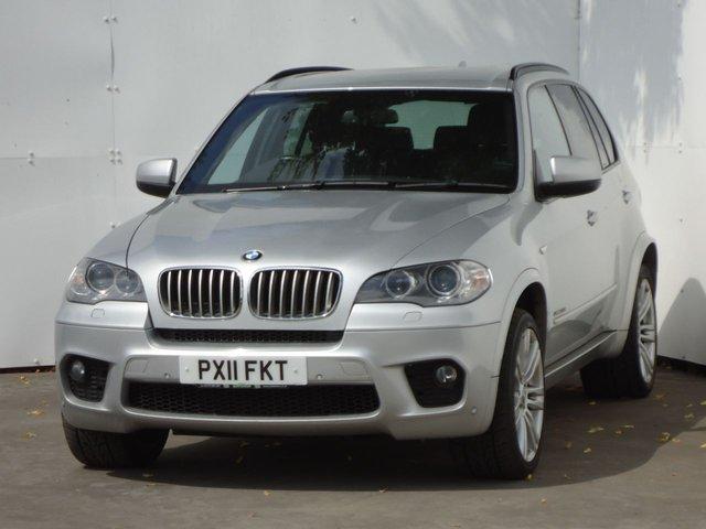 2011 11 BMW X5 3.0 XDRIVE40D M SPORT 5d AUTO 302 BHP