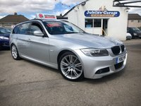 USED 2012 12 BMW 3 SERIES 2.0 318I M SPORT TOURING 5d 141 BHP M Sport, Sat Nav, Heated Leather, Bluetooth, Extras ££