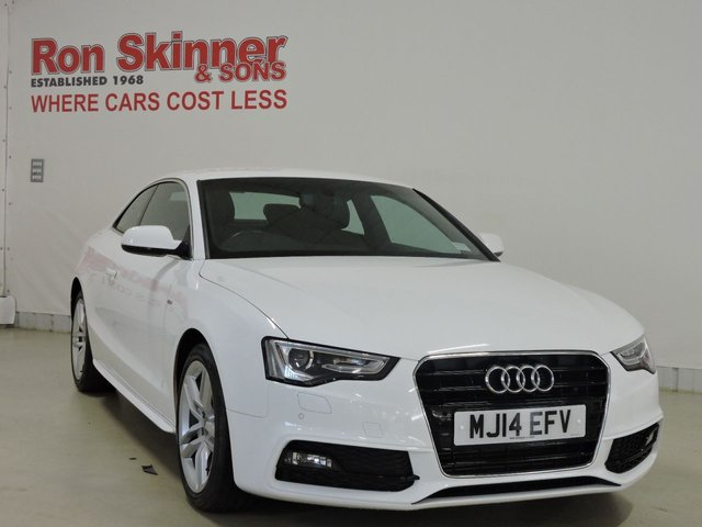 View our 2014 14 AUDI A5 2.0 TDI S LINE S/S 2d 177 BHP