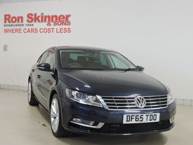 View our 2015 65 VOLKSWAGEN CC 2.0 GT TDI BLUEMOTION TECHNOLOGY 4d 148 BHP