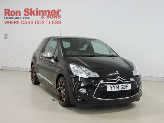 View our 2014 14 CITROEN DS3 1.6 E-HDI AIRDREAM DSPORT PLUS 3d 111 BHP