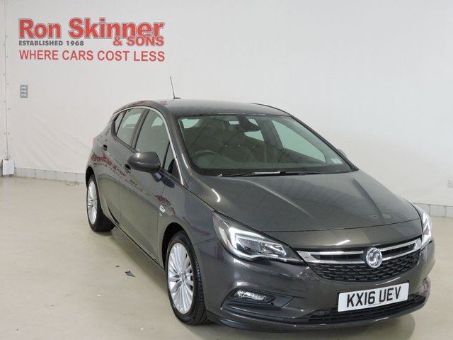 View our 2016 16 VAUXHALL ASTRA 1.4 ELITE 5d 148 BHP with rear/front parking sensors