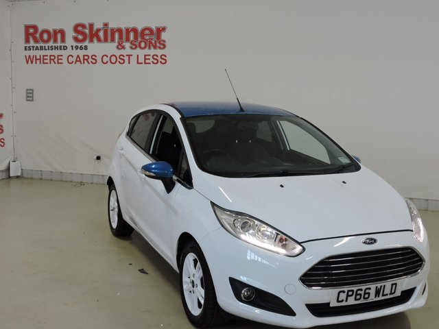 View our 2017 66 FORD FIESTA 1.0 ZETEC WHITE EDITION SPRING 5d 99 BHP