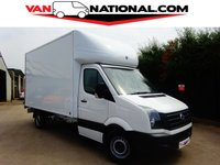2016 VOLKSWAGEN CRAFTER 2.0 CR35 TDI LUTON LWB (ONE OWNER 500KG TAIL LIFT) £15990.00