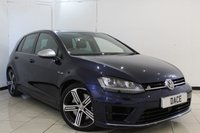 USED 2015 15 VOLKSWAGEN GOLF 2.0 R 5DR 298 BHP FULL VW SERVICE HISTORY + BLUETOOTH + PARKING SENSOR + CRUISE CONTROL + MULTI FUNCTION WHEEL + CLIMATE CONTROL + RADIO/CD + 18 INCH ALLOY WHEELS