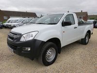 2016 ISUZU D-MAX 2.5 TD SINGLE CAB 4X4 PICK UP 164 BHP 48971 MILES £12750.00