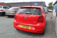 USED 2015 65 VOLKSWAGEN POLO 1.2 SE TSI 5d 89 BHP PETROL RED