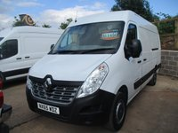 2015 RENAULT MASTER 2.3 MML35 BUSINESS DCI L4 H2 125 BHP A/c rear camera  £11450.00