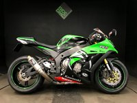2014 KAWASAKI ZX10 R TOM SYKES EDITION. 2014. POWER COMMANDER. 6835 MILES. KTRC. ABS £8500.00