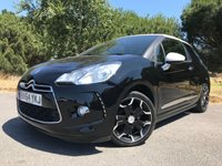 USED 2014 64 CITROEN DS3 1.6 E-HDI DSTYLE PLUS 3d 90 BHP ONLY 28,000 MILES!! £0 ROAD TAX!! GREAT FUEL ECONOMY!! HOT HATCH DIESEL!!