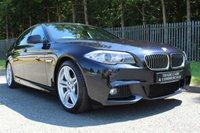 2011 BMW 5 SERIES 2.0 520D M SPORT 4d AUTO 181 BHP £12500.00