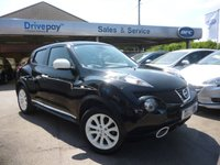 USED 2013 13 NISSAN JUKE 1.6 MINISTRY OF SOUND 5d 117 BHP PLEASE CALL TODAY FOR TEST DRIVE ALL CARS AA INSPECTED
