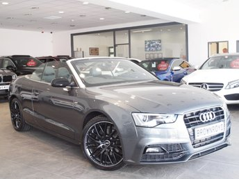 2015 AUDI A5 CABRIOLET 2.0 TDI S LINE SPECIAL EDITION PLUS 2d 148 BHP £19990.00