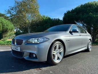 2015 BMW 5 SERIES 3.0 530D M SPORT 4d AUTO 255 BHP £17550.00