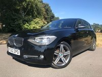 USED 2012 62 BMW 1 SERIES 1.6 116I SPORT 5d 135 BHP 1 SERIES SPORT NEW SHAPE 5DR FSH