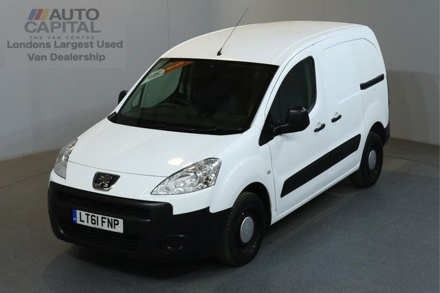 2011 61 PEUGEOT PARTNER 1.6 HDI 850 89 BHP L1 H1 SWB LOW ROOF ONE OWNER, SERVICE HISTORY