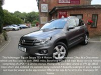 2012 VOLKSWAGEN TIGUAN 2.0 ESCAPE TDI BLUEMOTION TECH 4MOTION DSG 5d AUTO 138 BHP £SOLD