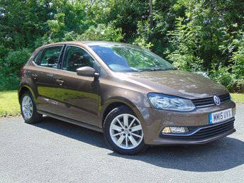 2015 VOLKSWAGEN POLO 1.4 SE TDI BLUEMOTION 5d  £8734.00