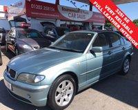2001 BMW 3 SERIES 2.5 325I SE 4d 190 BHP £995.00