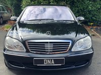 USED 2003 53 MERCEDES-BENZ S CLASS 3.2 S320 CDI 4d AUTO 204 BHP