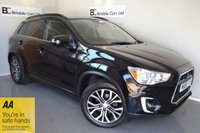 USED 2015 65 MITSUBISHI ASX 1.6 DI-D ZC-H 5d 112 BHP Immaculate  - 4 Wheel Drive - Satellite Navigation - Black Leather - Panoramic Sunroof - Full Mitsubishi Service History - DAB Radio - Must Be Seen