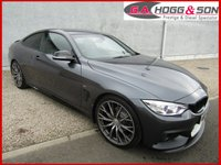 2015 BMW 4 SERIES 2.0 420D M SPORT 2dr 188 BHP **OUTSTANDING EXAMPLE** £18395.00