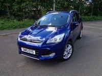 2015 FORD KUGA 2.0 TITANIUM X SPORT TDCI 5d 177 BHP £15495.00