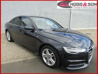 USED 2016 16 AUDI A6 2.0 TDI ULTRA S LINE 4dr AUTO 188 BHP AUDI WARRANTY UNTIL 30/06/2019