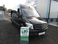 2014 MERCEDES-BENZ SPRINTER 2.1 313 CDI LWB 129 BHP 1 OWNER FROM NEW CRUISE CONTROL  £11995.00