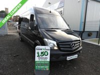 2014 MERCEDES-BENZ SPRINTER 2.1 313 CDI LWB 129 BHP 1 OWNER FROM NEW CRUISE CONTROL  £11595.00