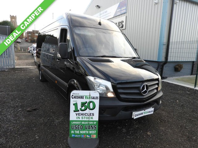 f767bcd3c9 2014 MERCEDES-BENZ SPRINTER 2.1 313 CDI LWB 129 BHP 1 OWNER FROM NEW CRUISE  CONTROL