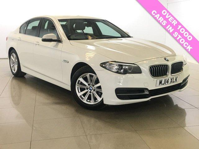 View our 2014 14 BMW 5 SERIES 2.0 518D SE 4d 141 BHP