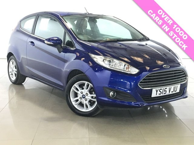 View our 2015 15 FORD FIESTA 1.6 ZETEC 3d AUTO 104 BHP