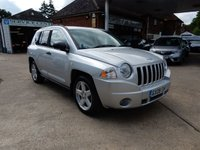 USED 2008 08 JEEP COMPASS 2.4 LIMITED 5d 168 BHP 4X4,LEATHER,HEATED SEATS,TWO KEYS,CRUISE,PARKING AID