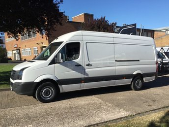 2015 VOLKSWAGEN CRAFTER 2.0TDI CR35 LWB HIGH ROOF 136BHP. 1 OWNER. PARKING SENSORS. £8490.00