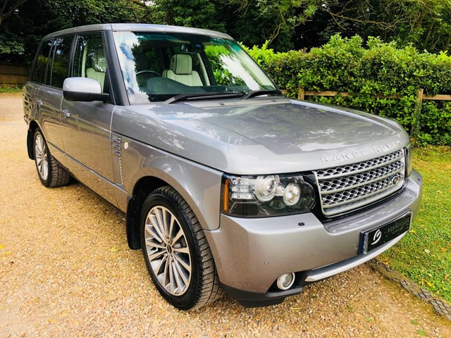 2012 12 LAND ROVER RANGE ROVER 4.4 TDV8 WESTMINSTER 5d AUTO 313 BHP
