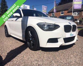 2012 BMW 1 SERIES 1.6 116I M SPORT 5d 135 BHP £12495.00