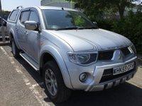 2010 MITSUBISHI L200 2.5 DI-D 4X4 ANIMAL LB DCB 1d AUTO 175 BHP NO VAT £8999.00
