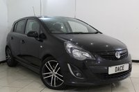 USED 2014 14 VAUXHALL CORSA 1.4 BLACK EDITION 5DR 118 BHP FULL SERVICE HISTORY + CRUISE CONTROL + MULTI FUNCTION WHEEL + AIR CONDITIONING + 17 INCH ALLOY WHEELS