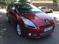 2012 PEUGEOT 5008 1.6 HDI ALLURE 5d 112 BHP £4595.00