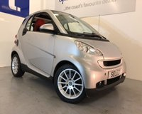 USED 2008 08 SMART FORTWO 1.0 PASSION 2d AUTO 84 BHP ONLY 33,000 miles,Panoramic glass roof,alloy wheels,air conditioning,blue tooth -70+MPG,park almost any tight space-cool and fun -and value for money