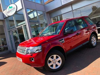 2014 LAND ROVER FREELANDER 2 2.2 TD4 GS 5d 150 BHP £13500.00