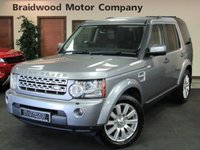 2012 LAND ROVER DISCOVERY 3.0 4 SDV6 HSE 5d AUTO 255 BHP