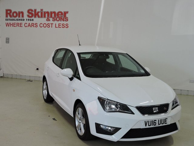 View our 2016 16 SEAT IBIZA 1.2 TSI FR 5d 109 BHP