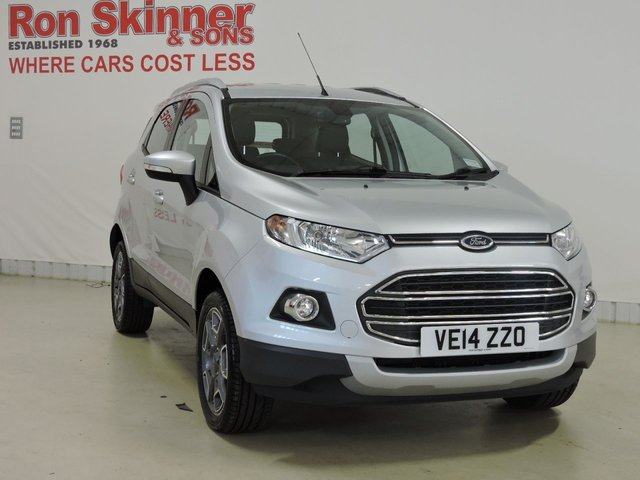 View our 2014 14 FORD ECOSPORT 1.5 TITANIUM X-PACK 5d 110 BHP