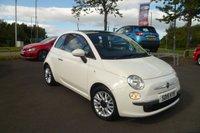 2015 FIAT 500 1.2 LOUNGE 3d 69 BHP £5495.00