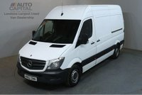 USED 2013 63 MERCEDES-BENZ SPRINTER 2.1 313 CDI MWB 129 BHP H/ROOF RWD VAN ONE OWNER FULL S/H SPARE KEY