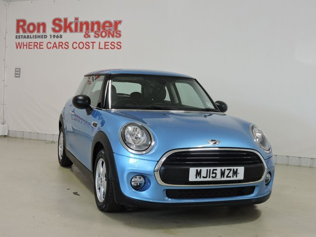 View our 2015 15 MINI HATCH ONE 1.2 ONE 3d 101 BHP with Pepper Pack + 15in Alloys