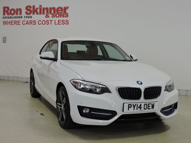 View our 2014 14 BMW 2 SERIES 2.0 218D SPORT 2d 141 BHP