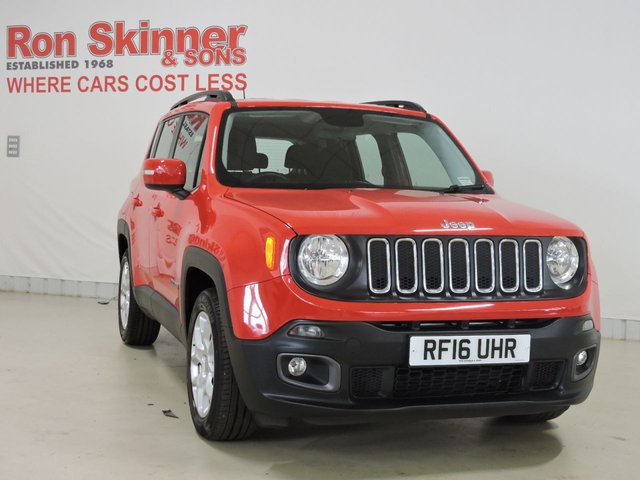 View our 2016 16 JEEP RENEGADE 1.4 LONGITUDE 5d 138 BHP